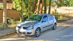 1.0 Hi-Renault Clio Authentique 2007 Flex Completo