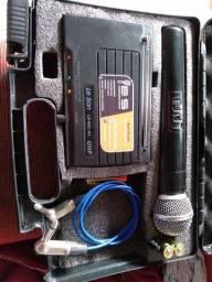 Microfone sem fio le- son UHF PROFFISSIONAL
