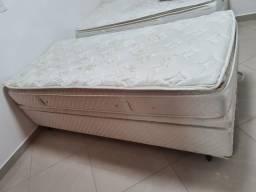Colchão + cama com box