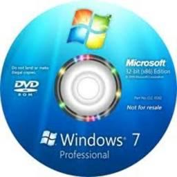 Dvd Windows 7 SP1 Todas Edições 32/64 Bits - Atualizado 2018 - Entrega Grátis