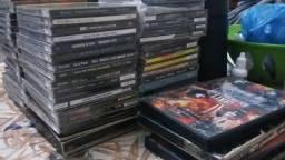 Vende-se CDs e DVDs metal
