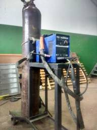 Máquina de solda TIG 200 Amperes Completa 16 99305 9280