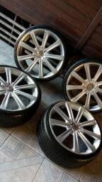 vendo rodas 19 com pneus