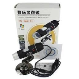 Microscópio Digital Zoom 500x Lupa Usb Para Pc e Celulares