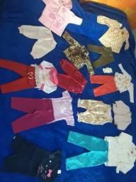 Imperdivel lote de roupas para bebê