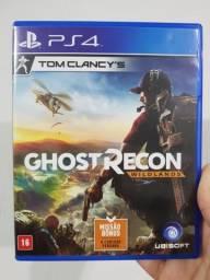 Game em Mídia Física Tom Clancy's Ghost Recon Wildlands para PlayStation 4 (PS4)