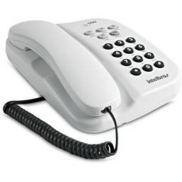 Telefone c/ fio Intelbras TC-500 Branco