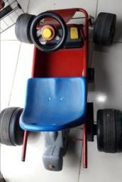 Carro Elétrico Infantil Kart Criança! Muito Novo! Bateria zerada! R$449, usado comprar usado  Goiânia