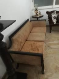 Mobília de sala de visita antiga estilo Romano