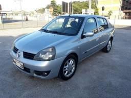 Renault clio sedan 1.6 privilege completo abaixo da fipe - 2007
