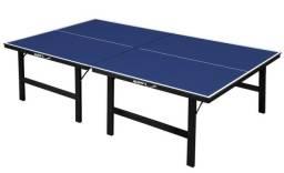 Mesa de Ping Pong Tênis de Mesa 15mm S/ Roda Pé Madeira