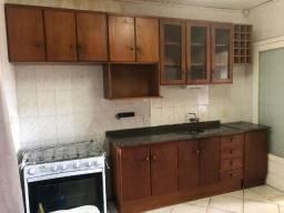 Cozinha de Mogno Escuro maciço em 3 partes Semi-nova
