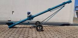 Rosca transportadora tipo chupim p/ transporte de grãos