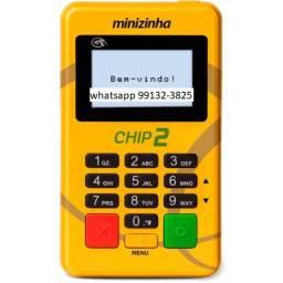 Maquininha Chip2 wifi nova Lacrada