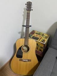 Violão Fender canhoto acústico