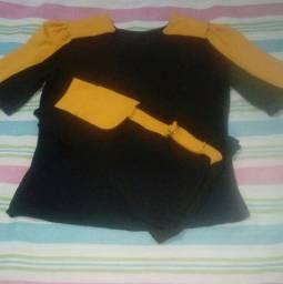 Conjunto Short e Blusa feminino