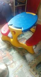 Mesa infantil bandeirantes