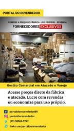 Compre direto do atacado e fábrica, lucre até 300% nas revendas ou compre para uso próprio