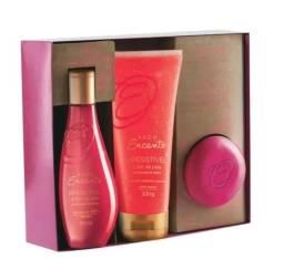 Kit - Encanto Irresistível Á Flor da Pele Pink Bouquet & Ambar
