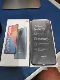 Redmi Note 9S Tropical Blue 6GB/128GB na Caixa Completo Zero Vendo ou Troco