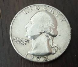 Quarter Dollar - 1 Quarto de Dollar - 25 Cent...