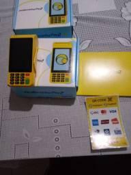 Moderninha pró2 maquina de passar cartão