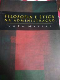 Livro sobre filosofia e ética na administração.