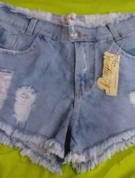 Shortes jeans novo
