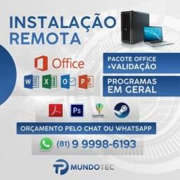 Instalação remota - pacote office atualizado comprar usado  Olinda