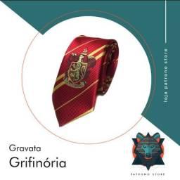 Gravata Grifinória - Harry Potter