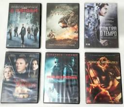 DVD's 6 filmes de ação, drama e aventura