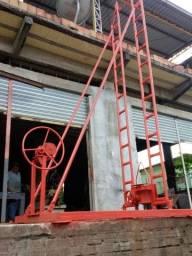 Máquina de fura poço artesiano