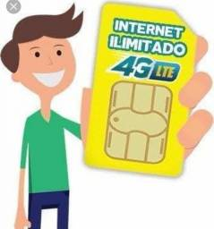 Chip Ilimitado 120gb