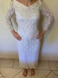 Vestido noiva cartório
