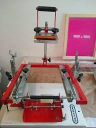 Máquina de Silk Silqsmaq para serigrafar