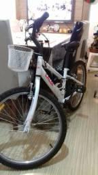 Bicicleta caloi feminina ótimo estado aro 24