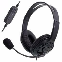 Headset P3 Fone e Microfone Compatível Com Consoles PS4 Xbox One Celulares