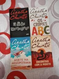 Box 4 Livros Agatha Christie