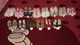 Lote sapatos infantil **leia o anúncio
