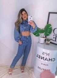 Calças jeans forma pequena
