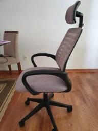Cadeira Diretor Vegas II Cinza Usada