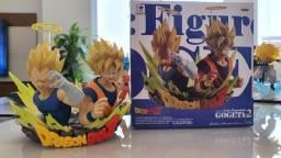 Estátua Gogeta V2 Banpresto - Goku E Vegeta