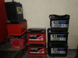 Baterias automotiva e estacionária diversos tamanhos