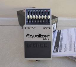 Pedal Boss GE-7 Equalizer Semi Novo para Guitarra Violão