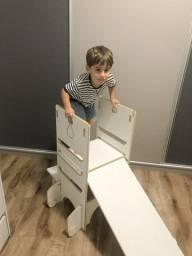 Torre aprendizagem montessori 4 em 1