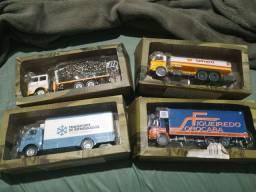 Miniaturas de Caminhões Brasileiros
