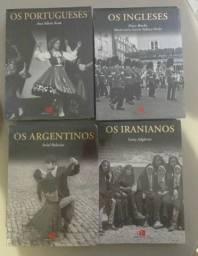 Livros Os Argentinos, Os Portugueses, Os Ingleses e Os Iraniamos Novos, Lacrados