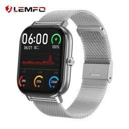 Relógio Smartwatch P8 Pro DT35 Faz e Recebe Ligação