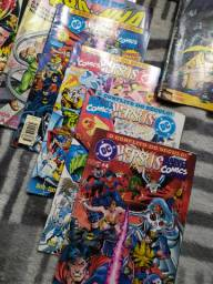 HQs antigas Marvel e DC