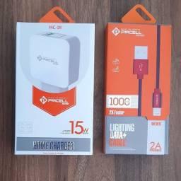 Kit Power Com Sistema De Carga Inteligente iPhone